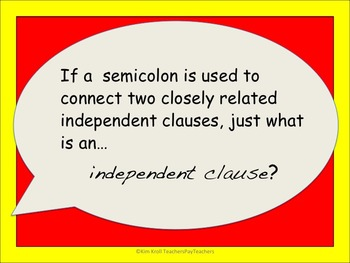 Semicolon FREEBIE