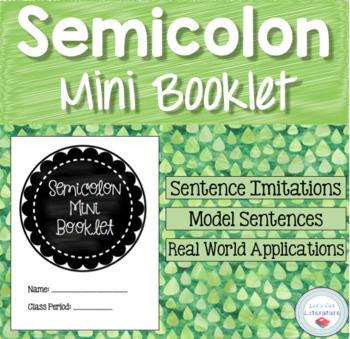 Semicolon Mini Book