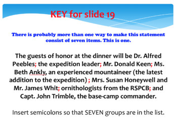 Semicolon PowerPoint-Practice questions throughout, key at end, fun!