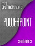 Semicolon - Powerpoint