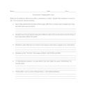 Semicolon and Colon Test