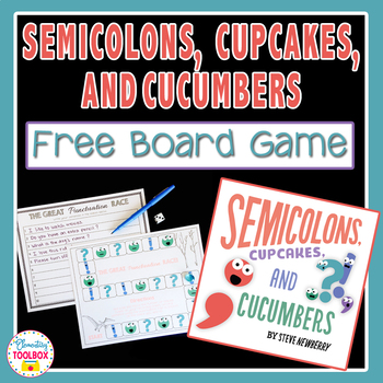 Semicolons, Cupcakes, & Cucumbers FREE Board Game
