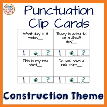Semicolons, Cupcakes and Cucumbers Punctuation Cards and Fill in the Punctuation