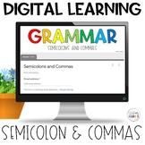 Semicolons and Commas Usage Self-Grading Quiz | Google DIS