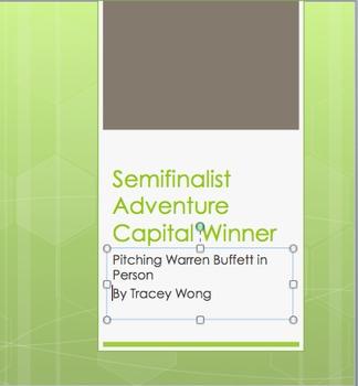 Semifinalist Adventure Capital Grant