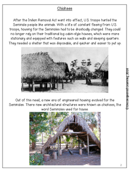 Seminole Indian Chickee