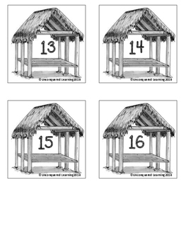 Seminole Indian Chickee Classroom Numbers