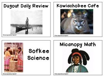 Seminole Indian Daily Agenda/Schedule