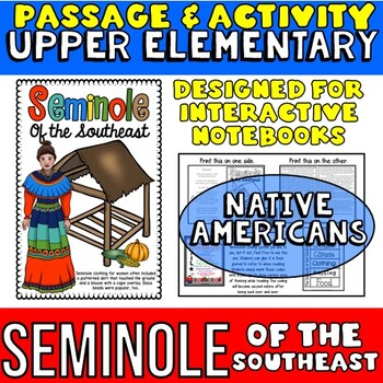 Native Americans: Seminole Passage with Activity