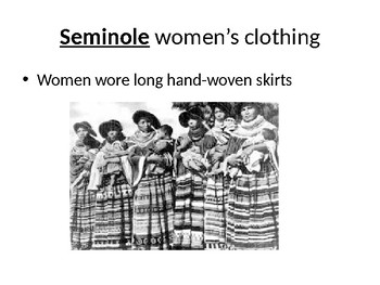 Seminole tribe Flashcards
