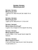 Senator, Senator, What Do You Do?