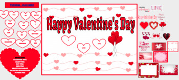 Send A Valentine Message - Digital and Maybe use with Google Classroom