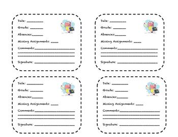 Send Home Grade Report