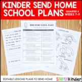 Send Home School Plans   4th Quarter Kinder Weeks 7-9