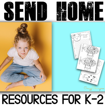 Send home packets for K-2 | Distance learning