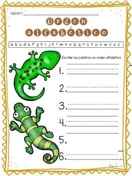 Senderos 1st Grade Unit 3 Lesson 15 Cinco grupos de animales
