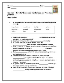 Senderos Fronterizos - por Francisco Jimenez