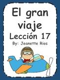 Senderos Lesson 16 - Supplement Unit (El gran viaje)