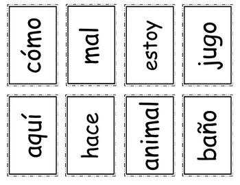 Senderos: Primer Grado: Unidad 2: Lección 2: Práctica del vocabulario