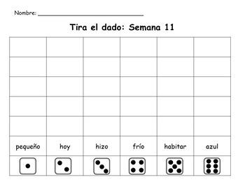 Senderos: Primer Grado: Unidad 3: Lección 1: Práctica del vocabulario