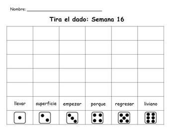 Senderos: Primer Grado: Unidad 4: Lección 1: Práctica del vocabulario