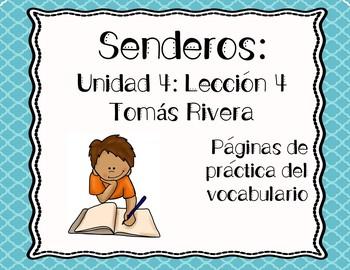 Senderos: Primer Grado: Unidad 4: Lección 4: Práctica del vocabulario