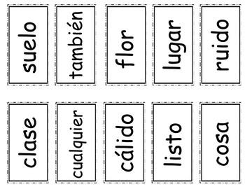 Senderos: Primer Grado: Unidad 5: Lección 4: Práctica del vocabulario