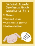 Spanish Reading Questions (Senderos textbook- theme part 1)