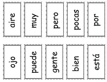 Senderos: Segundo Grado: Unidad 2, Lección 3: Práctica del vocabulario