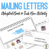 Mailing Letters Adapted Book & Task Box Activity