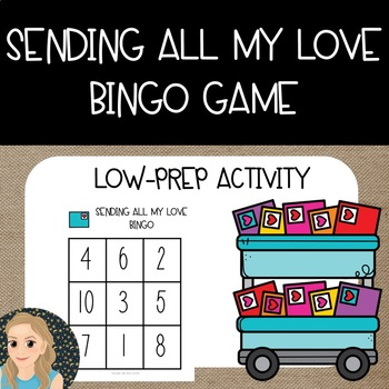 Sending All My Love Math {Bingo Game}