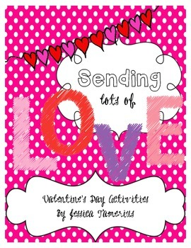 Sending Lots of Love Activity Packet