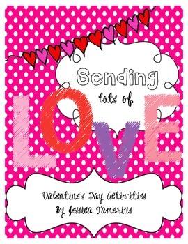 Sending Lots of Love Activity Packet