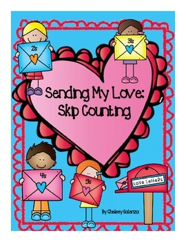 Sending My Love: Valentine's Day Skip Counting