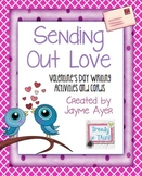 Sending Out Love: Valentine's Day Writing Activity and Cards
