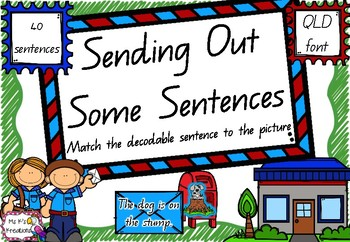 Sending Out Some Sentences - A sentence matching game