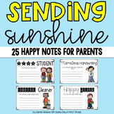 Sending Sunshine {25 Happy Notes for Parents!}