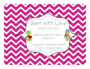 Sending You Fact Fluency Fun {A Valentine's Day Math Center}