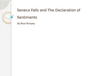 Seneca Falls and The Declaration of Sentiments