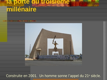 Sénégal power point in French