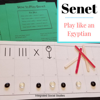 Senet: Play Like An Egyptian
