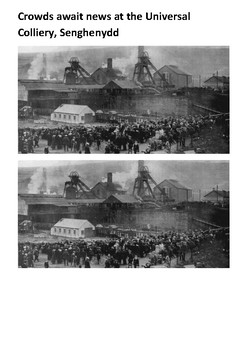 Senghenydd colliery disaster Handout