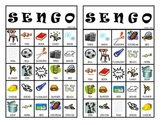 """Sengo""  Senses BINGO Game"