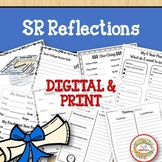 Senior End of the Year Reflections Writing Project Bundle