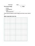 Senior Final Project 2D worksheet