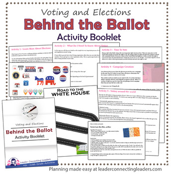 Senior Girl Scout Behind the Ballot Activity Booklet