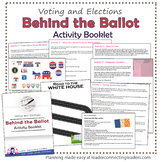 Senior Girl Scout Behind the Ballot Badge Complete Booklet