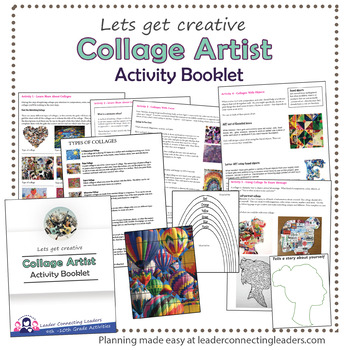 Senior Girl Scout Collage Artist Activity Booklet