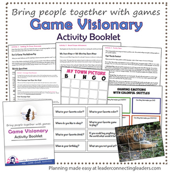 Senior Girl Scout Game Visionary Activity Booklet