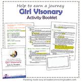 Senior Girl Scout GirlTopia Journey Checklist Booklet